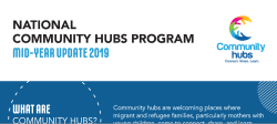 National community hubs program mid-year update 2019